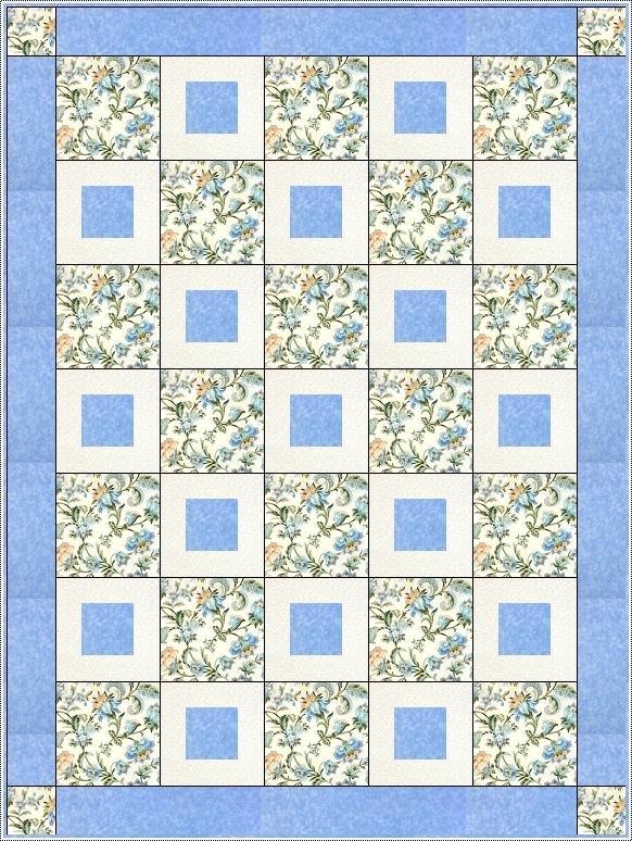 Pretty Please 3 Yard Quilt Pattern