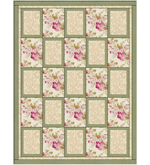 Picture Perfect 3 Yard Quilt Pattern