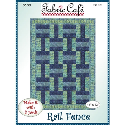 Rail Fence 3 Yard Quilt Pattern