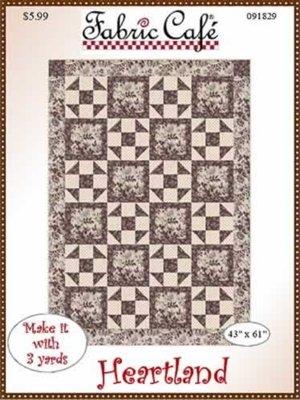 Heartland 3 Yard Quilt Pattern