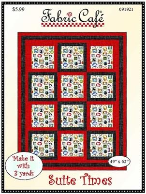 Suite Times 3 Yard Quilt Pattern