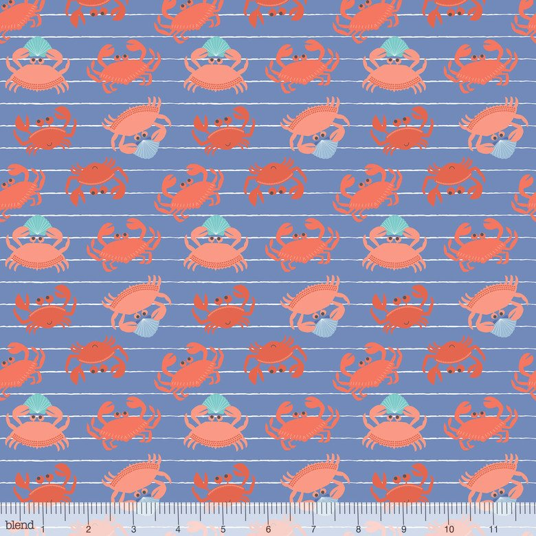 Underwater Fanta-Sea - King Crab Blue