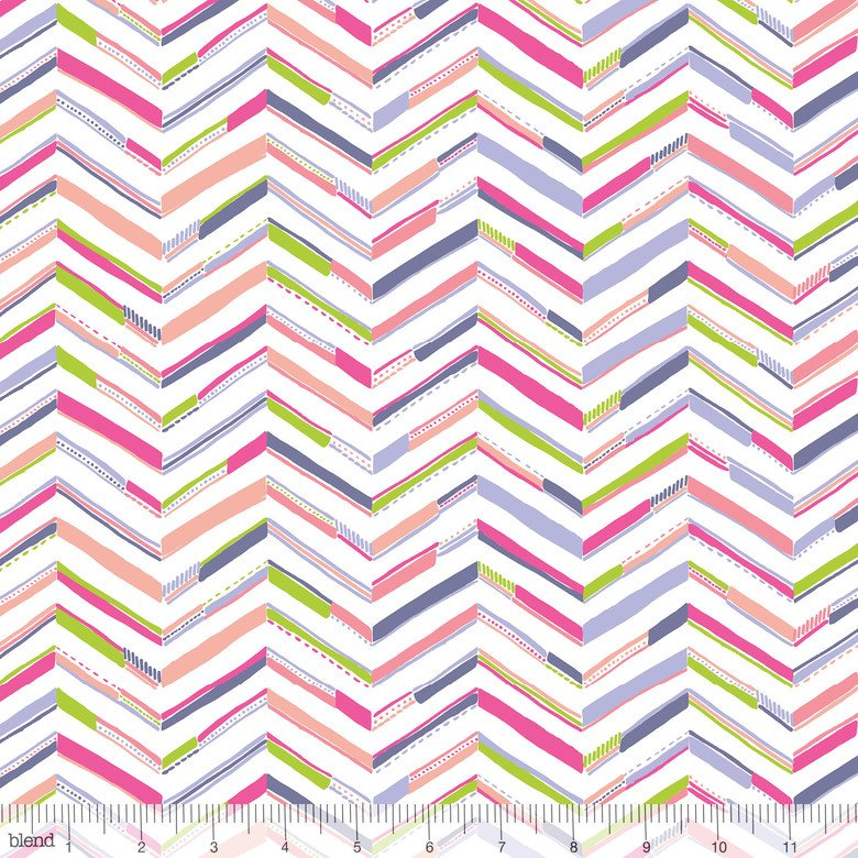 Sundaland Jungle Pink Tenun Chevron
