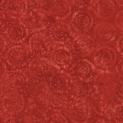 Dandelion Shades of Red Batik