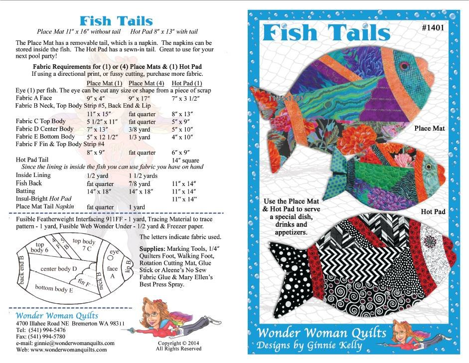 Fish Tales Pattern