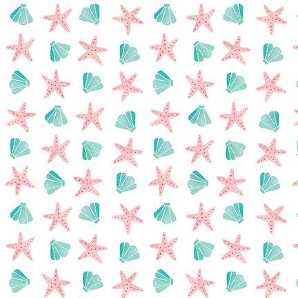 Beach Bound Starfish and Shell 1457-01