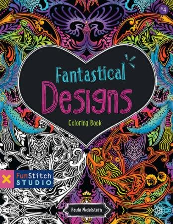 Fantastical Designs Coloring Book - Softcover