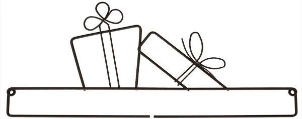 Gifts 12 Door Hanger Topper