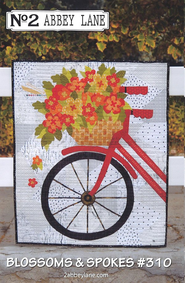 Blossoms & Spokes Pattern