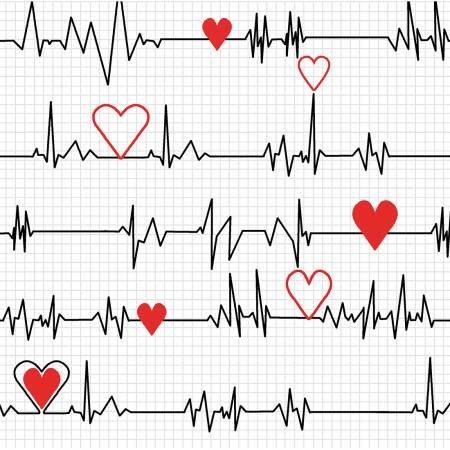 Calling All Nurses White Heart Beat 37302-2