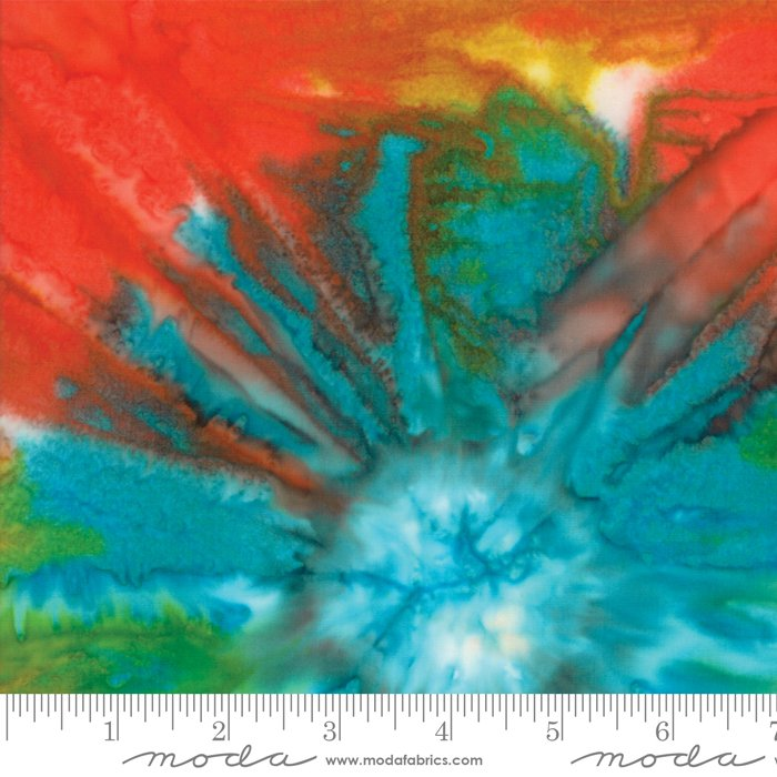 Bonfire Ocean Batik 4346-25