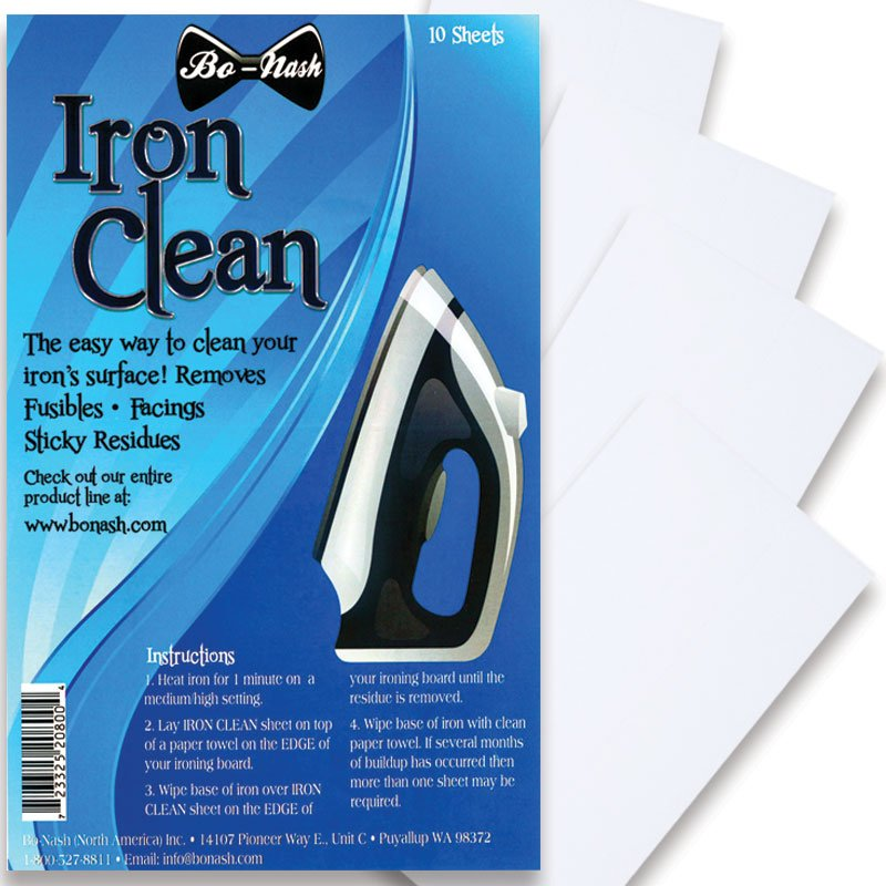 Iron Clean Sheets