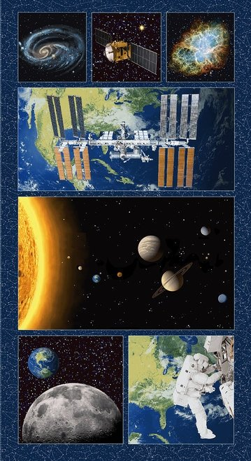 Planetary Missions Large Block Panel 5311-79P