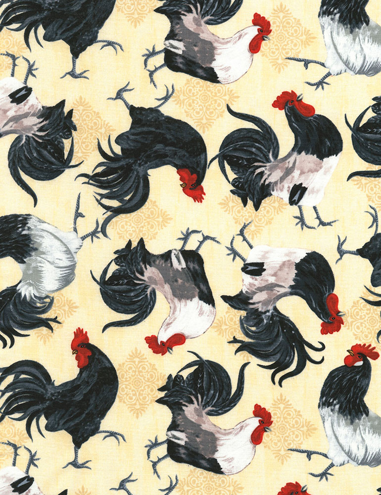 Tossed Roosters
