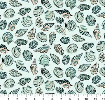 Sea Botanica Sea Shells Blue 90242-60
