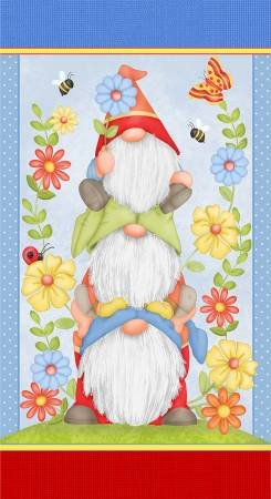 Gnome is Where Your Garden Grows 24 Panel 9450P