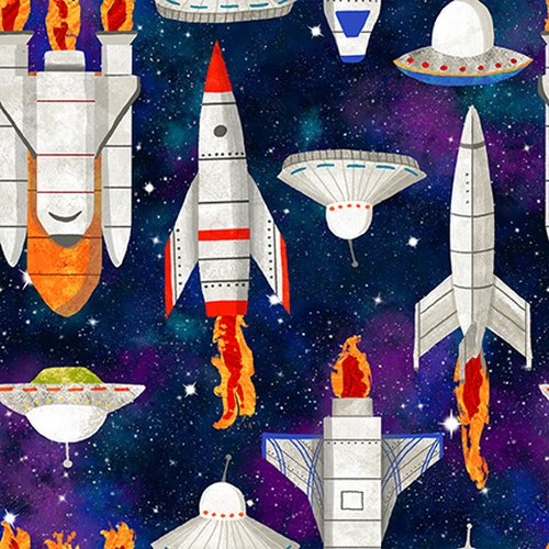 Lost in Space Black Spaceships 9771-99