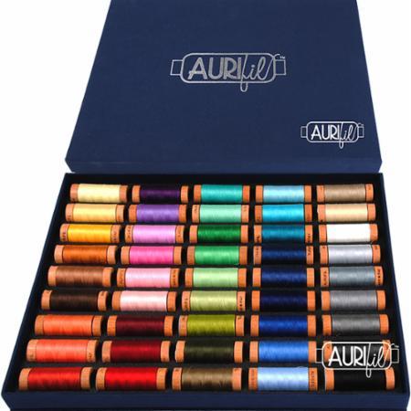 Aurifil Best Selection Box 80wt Threads