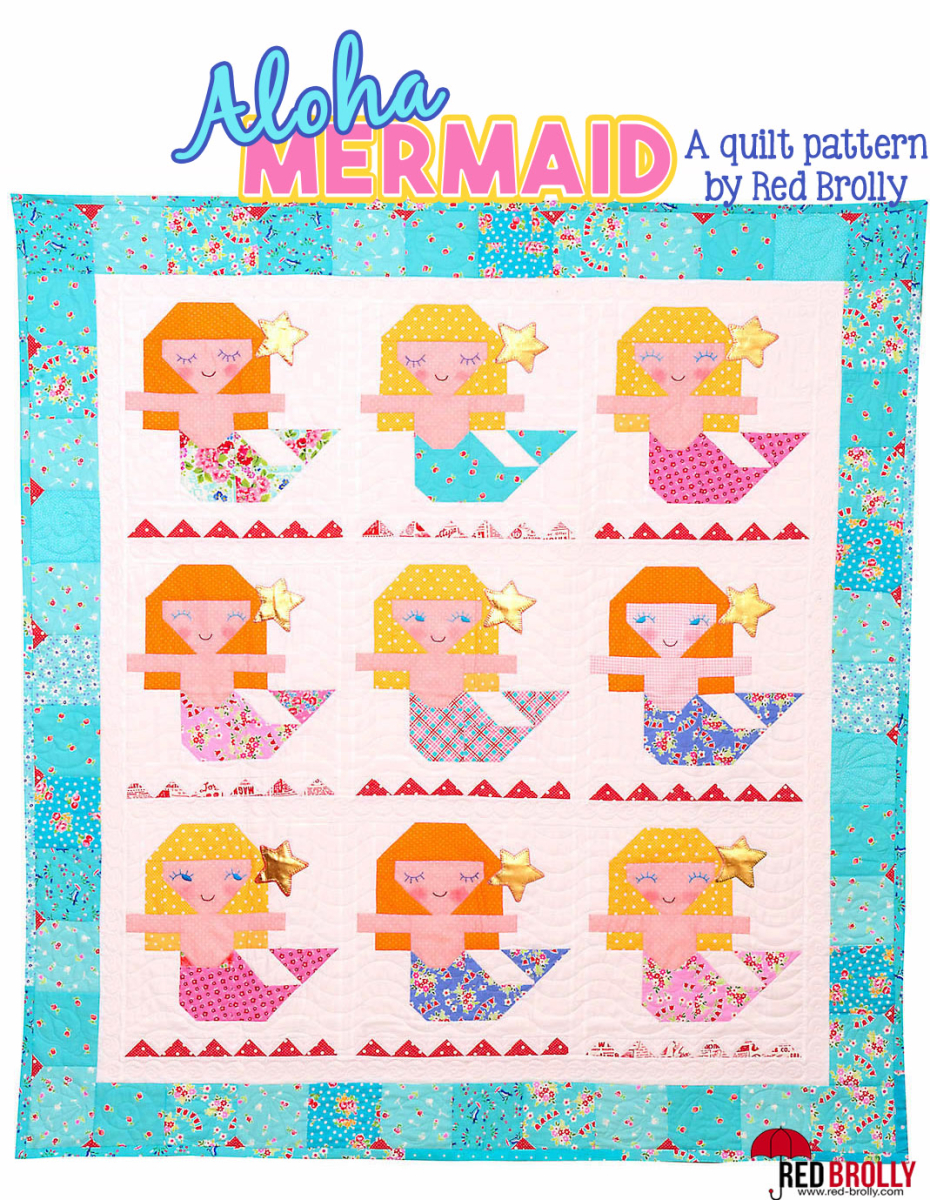 Aloha Mermaid Pattern
