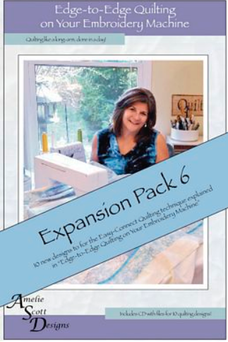 Edge to Edge Quilting Expansion Pack 6