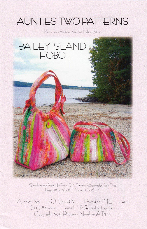 Bailey Island Hobo Bag Pattern