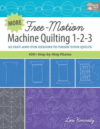 More Free Motion Machine Quilting 123 Book
