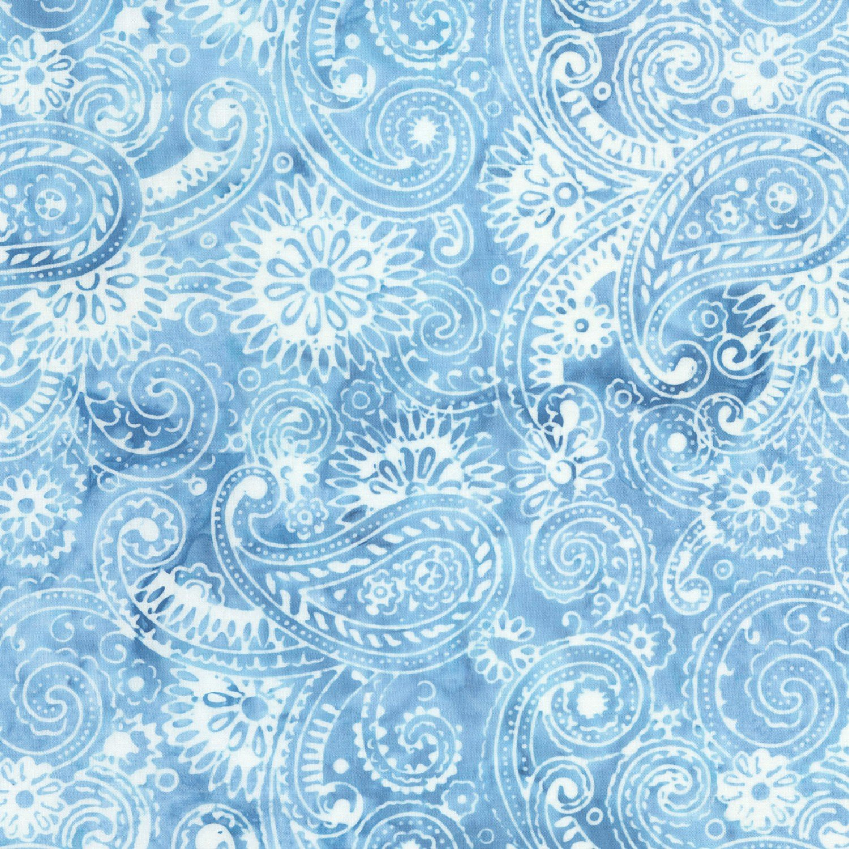 Tonga Batik- Flourish Paisley  B5403-ICE