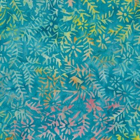 Tonga Swim Shrub Spines Batik 7665-aqua