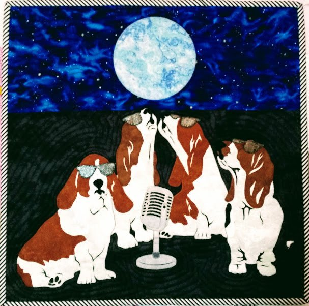 Basset Blues Pattern 2018 Row by Row