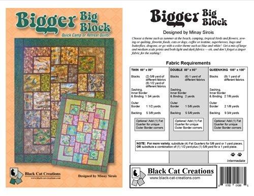 Bigger Big Block Quilt Pattern