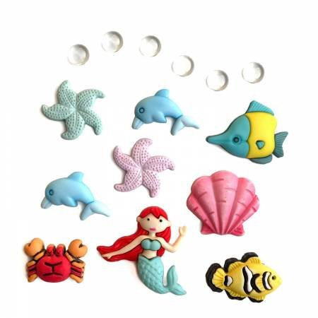 Under The Sea Theme Buttons