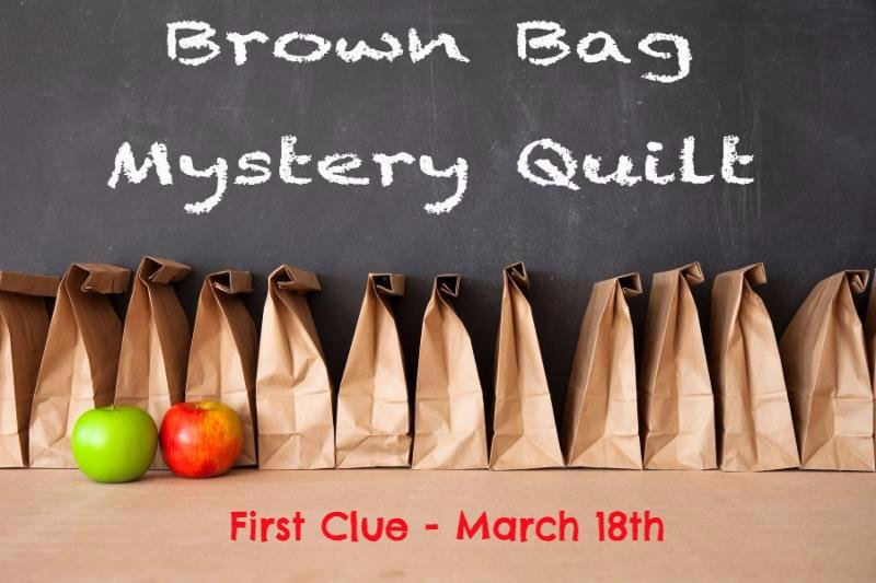 2019 Brown Bag Mystery Kit, Check Please