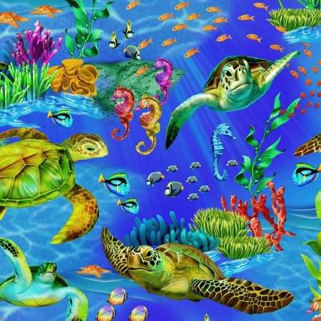 Ocean Sea Turtles C6154