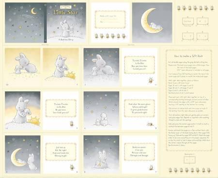 Little Star Soft Book Panel, 36''
