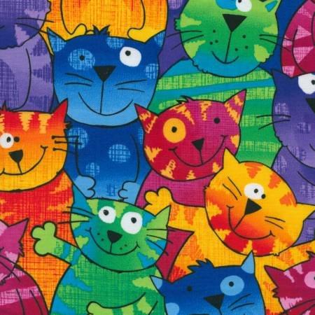 Happy Cats  C9327-black