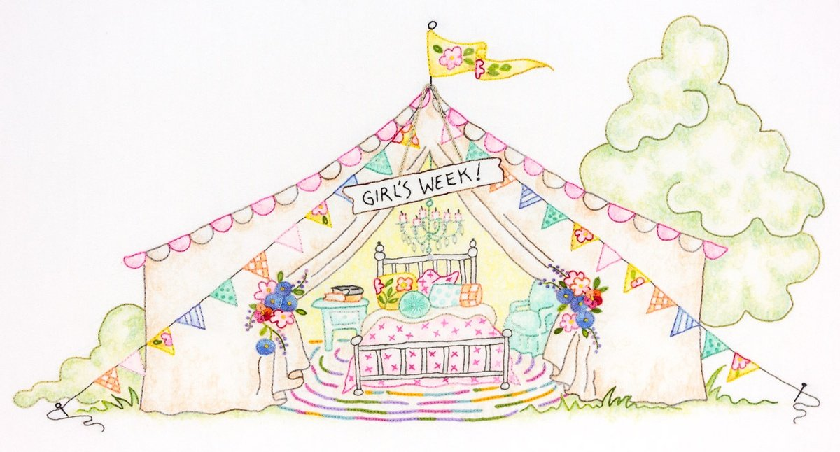 Girl's Getaway #3 Girls Tent Pattern