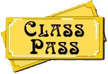 Summer 2018 Class Pass