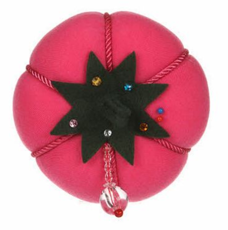 Pink Velvet Fashion Pin Cushion