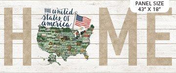 My Home State USA Panel