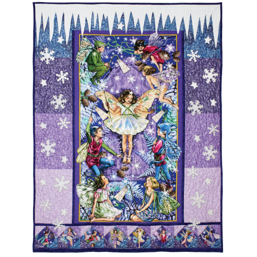 Enchanted Evening Fairy Quilt Fabric Kit