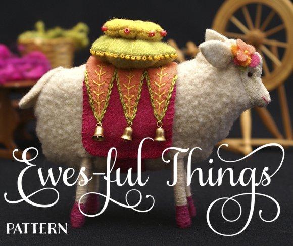 Ewenice the Sheep Pattern