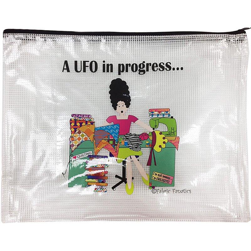 UFO in Progress Mesh Bag 10'' x 13''