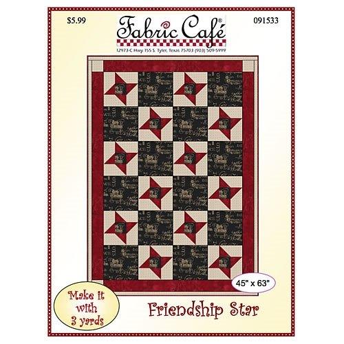 Friendship Star 3 Yard Quilt Pattern