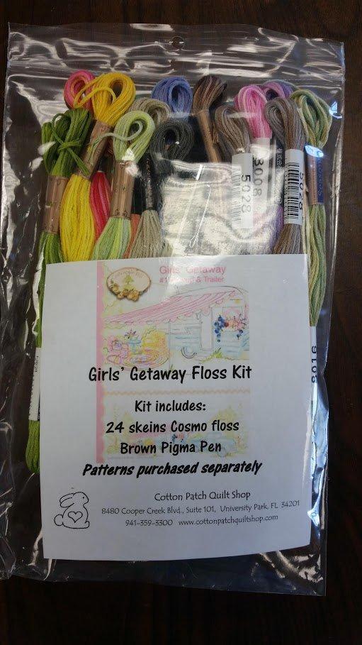 Girl's Getaway Floss Kit