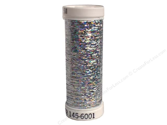 Holoshimmer Polyester Metallic Thread 250 yds Silver