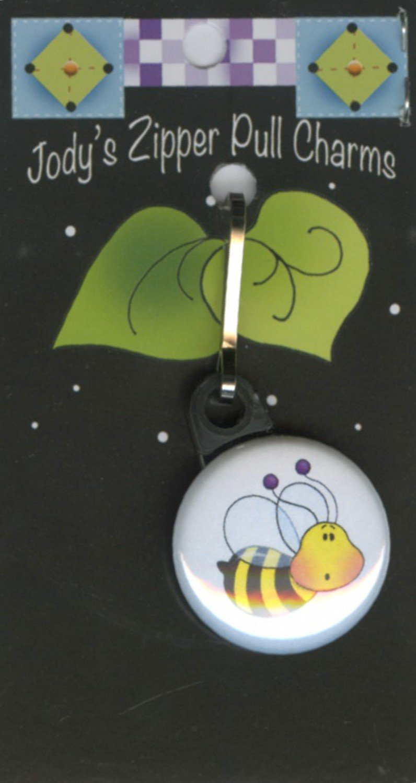 Bee Zipper Charm