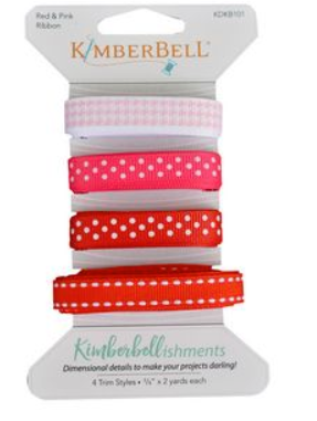 Kimberellishments Red & Pink Ribbons