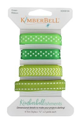 Kimberellishments Green Ribbons