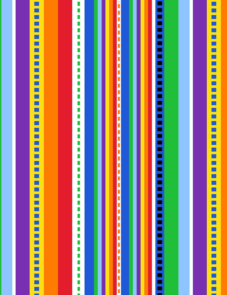 Two by Two- Stripe Multi