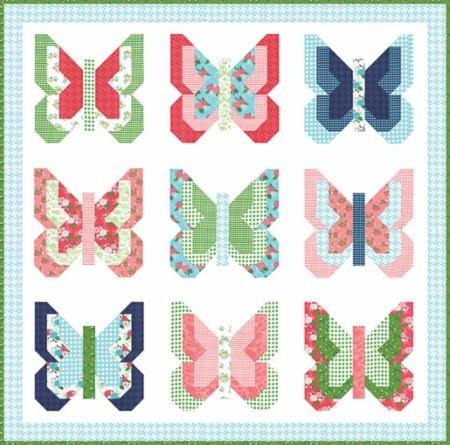 Social Butterfly Pattern